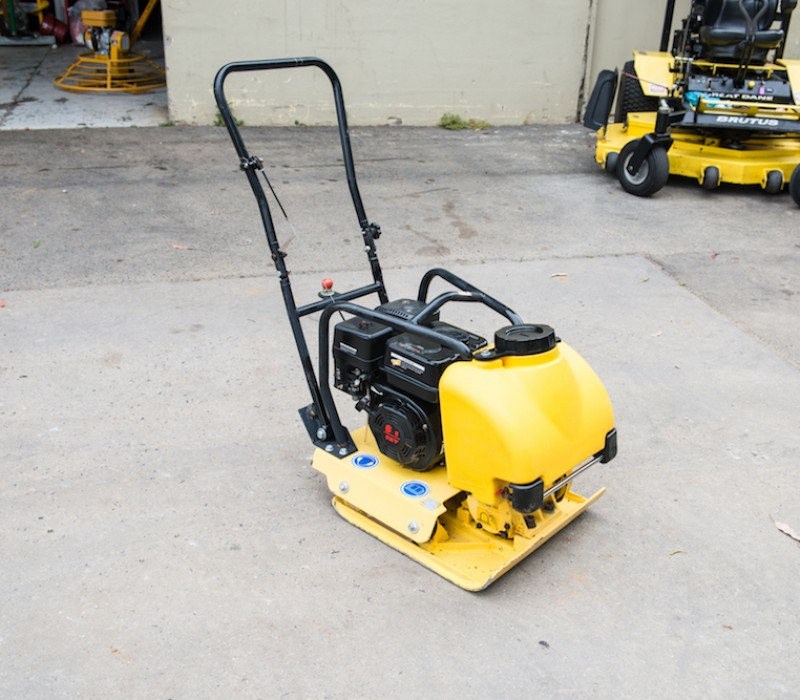 6.0HP CROMMELINS PLATE COMPACTOR ALL-PURPOSE