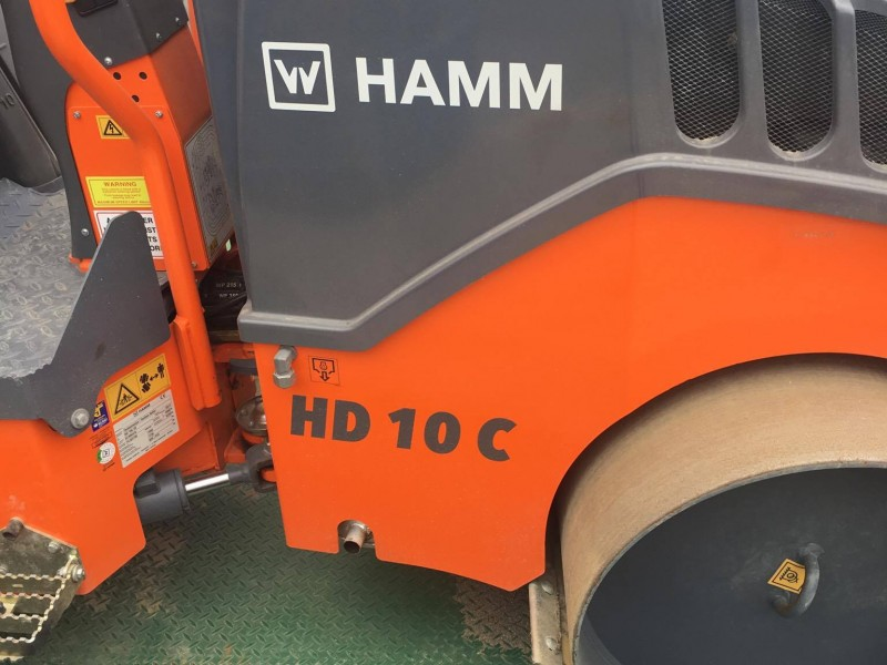 HAMM HD 10C VT ARTICULATED COMBI ROLLER WITH VIBRATORY DRUM