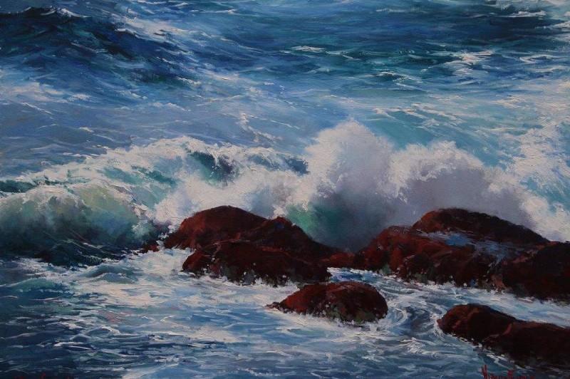 Wave Form - 20 x 25.5cm