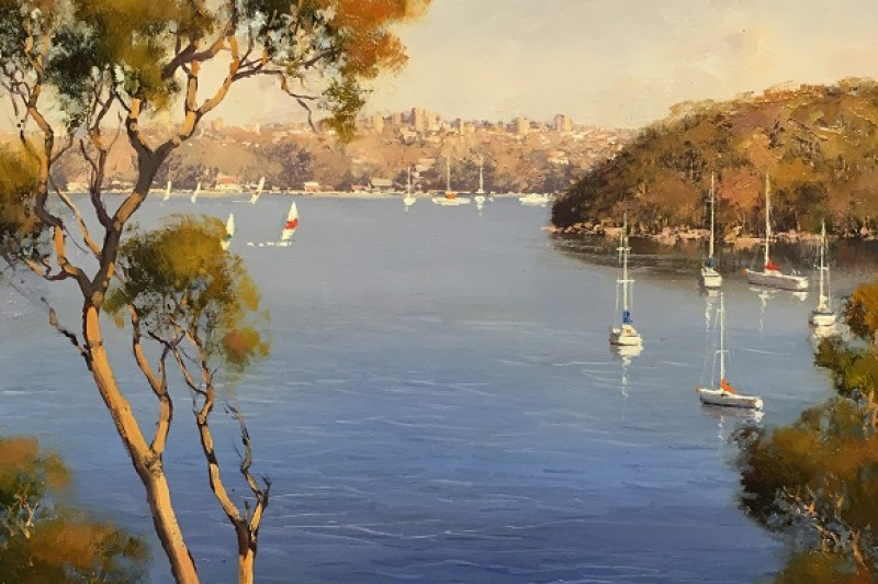 Sydney Harbour -40.5 x 30.5cm