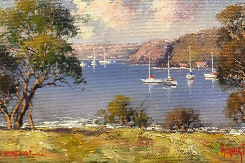Middle Harbour - 22.5 x 12.5cm