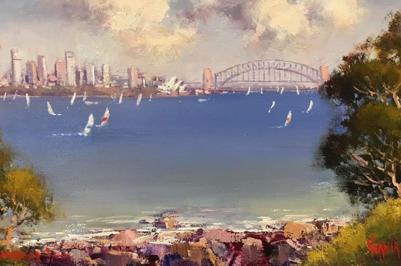 Sydney Harbour - 22.5 x 12.5cm