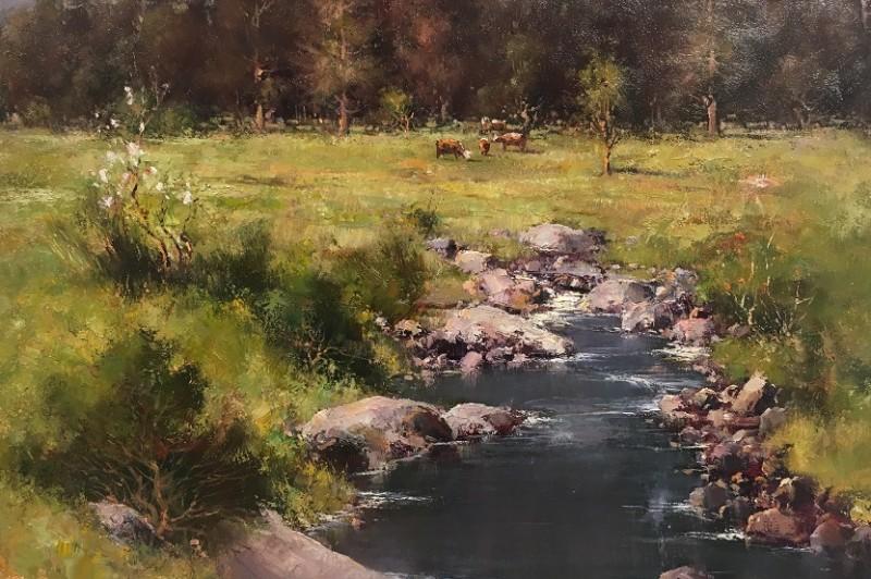 Dream Pastures - 58.5 x 45.5cm