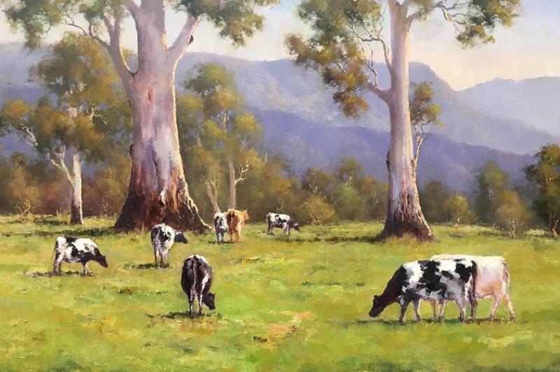 Dream Pastures - 45.5 x 35.5cm