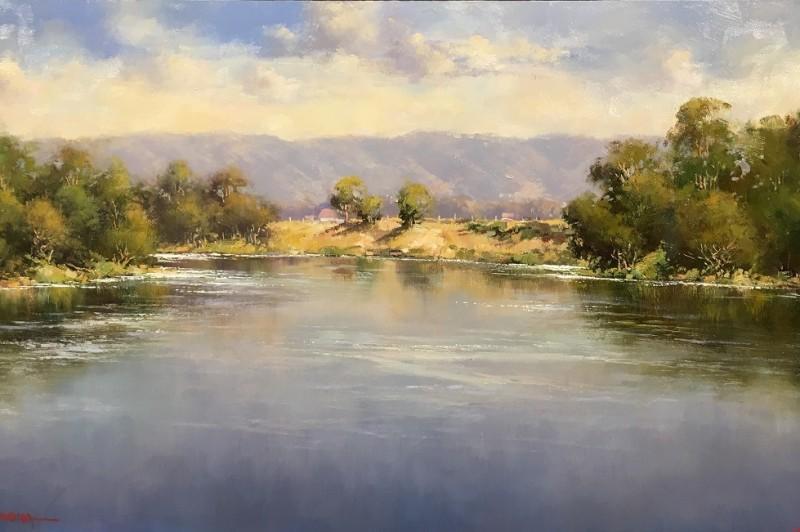 Hawkesbury River - 56 x 31cm