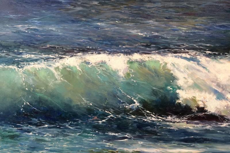 Wave Motions - 35.5 x 25.5cm