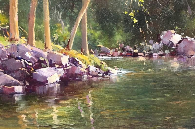 Bellingen River - 20 x 25.5cm