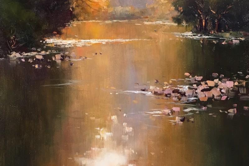 Bellingen River - 40.5 x 20cm