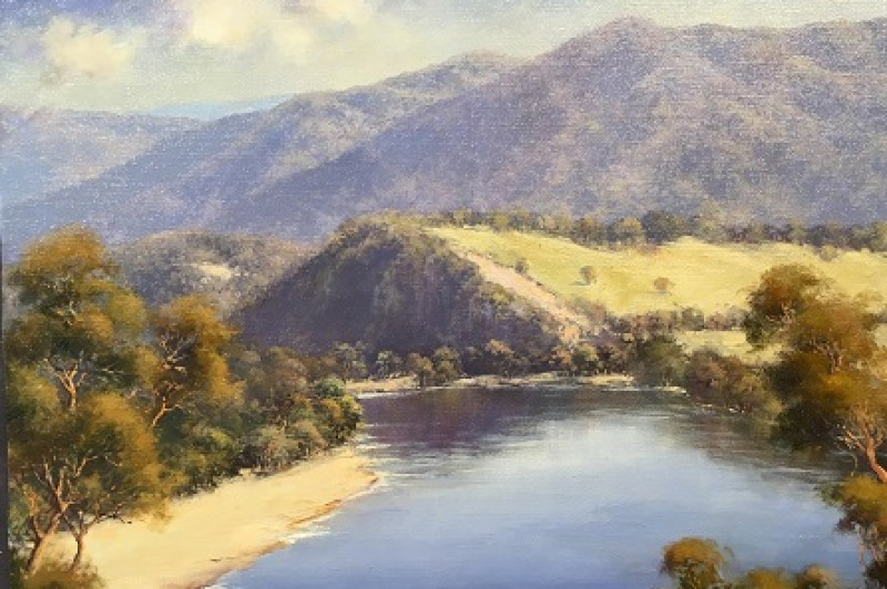 Macleay River - 50.5 x 40.5cm